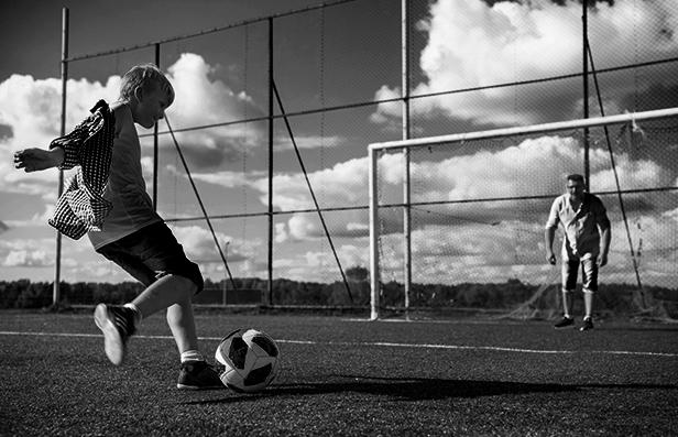 Mladý sportovec / neprofesionál